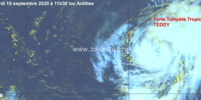 Forte tempête tropicale Teddy