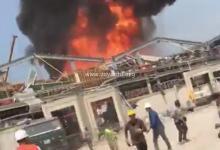 Photo de Liban : un violent incendie sévit actuellement sur le port de Beyrouth (VIDÉO)