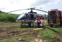 Photo de Une femme victime d'un malaise lors d'une randonnée à la presqu'île de la Caravelle à Trinité