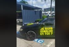 Photo de Une mobilisation en soutien à Oswaldo à Peugeot Martinique, ce samedi matin (VIDEO)