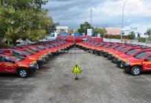 Photo de 22 véhicules de type Dacia Duster viendront compléter la flotte de véhicules du SDIS de Martinique