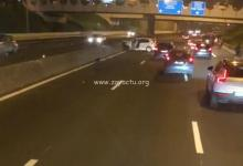 Photo de Un accident sur l'autoroute au niveau du pont de la Galleria perturbe la circulation en direction du Lamentin