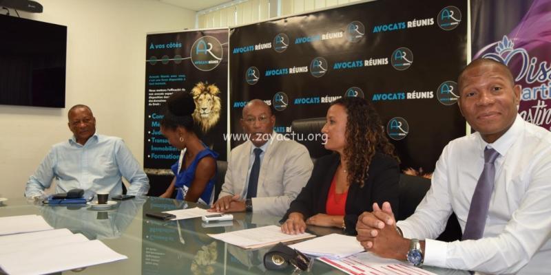 Conférence de presse Miss Martinique