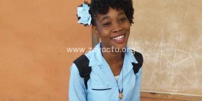 La jeune Evelyne Sincère kidnappée et tuée en Haïti.