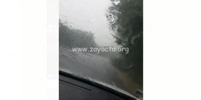 Pluies sur Sainte-Marie