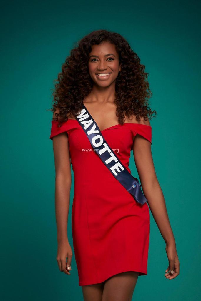 Anlia Charifa Miss Mayotte 2020.