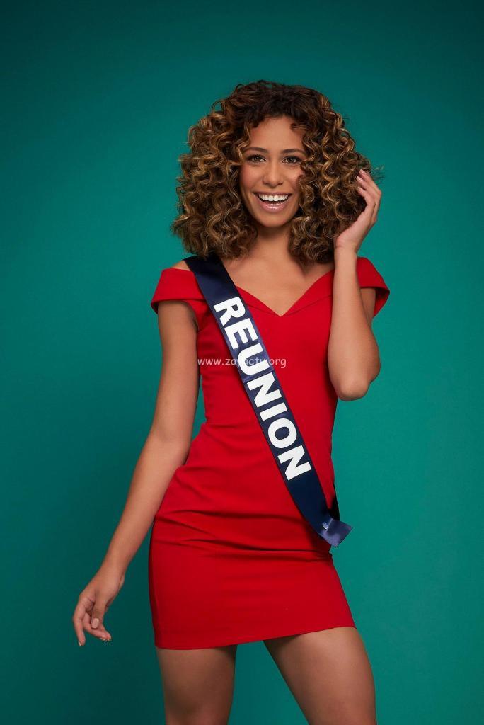 Lina Boyer Miss Réunion 2020.