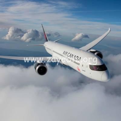 Un avion de la compagnie aérienne Air Canada.
