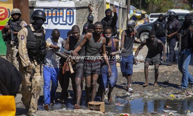 Des détenus s'évadent d'une prison en Haïti