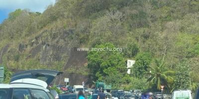 Accident de moto sur la Rocade