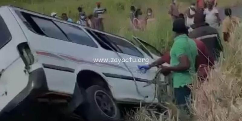 Accident de bus à Sainte-Lucie