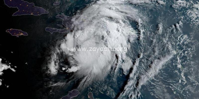 La tempête tropicale Grace. Photo : NHC