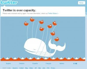 Twitter is over capacity?