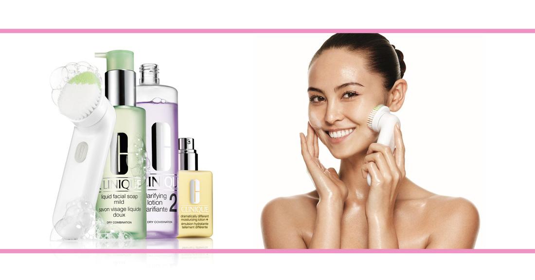 Een schone huid met de nieuwe Clinique Brush