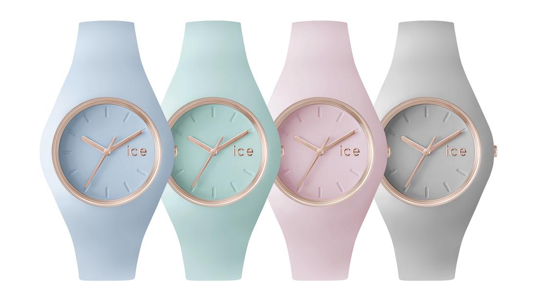 Mooie pastelklokjes van Ice-Watch Glam Pastels