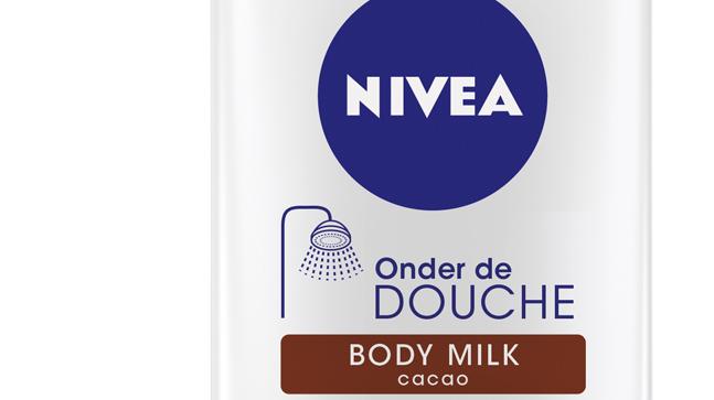 Nivea onder de douche bodymilk
