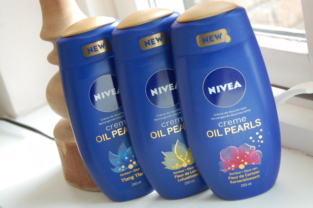 Nivea Creme Oil Pearls