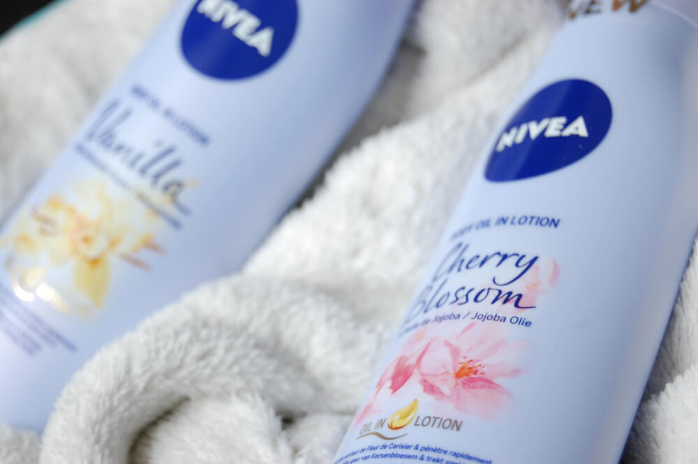 Nivea Body Oil in Lotion