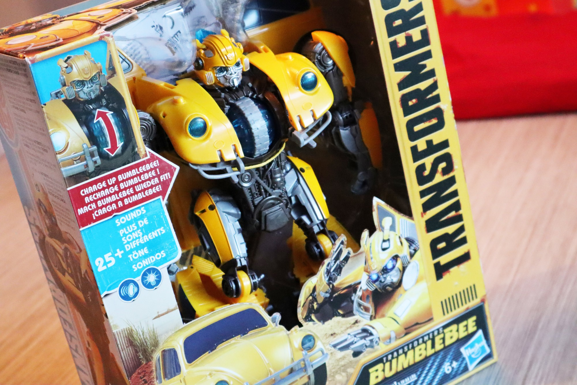 Transformers Bumblebee Power Charge