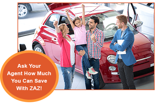 Auto Insurance Discounts with ZAZ GPS
