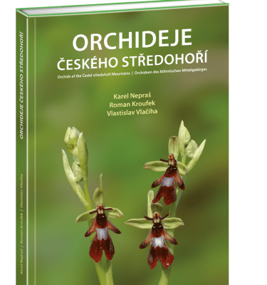 Orchideje Českého středohoří Karel Nepraš, Roman Kroufek a Vlastislav Vlačiha