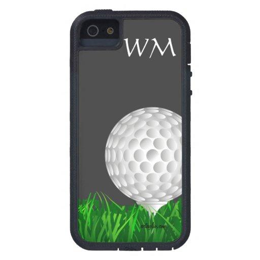 Golf ballpersonalized golf iPhone SE55s case Zazzle