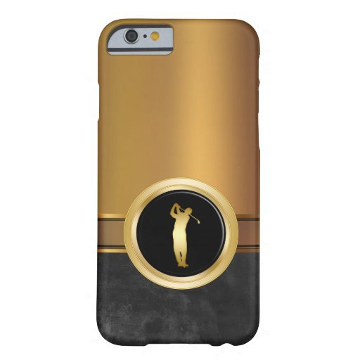 Luxury Men39s Golf Theme Barely There iPhone 6 Case Zazzle