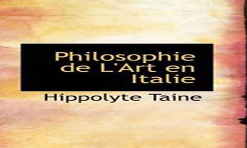 "Иполит Тен ""ФИЛОЗОФИЈА УМЈЕТНОСТИ"" , Hippolyte Taine ""Philosophie de l'art"""