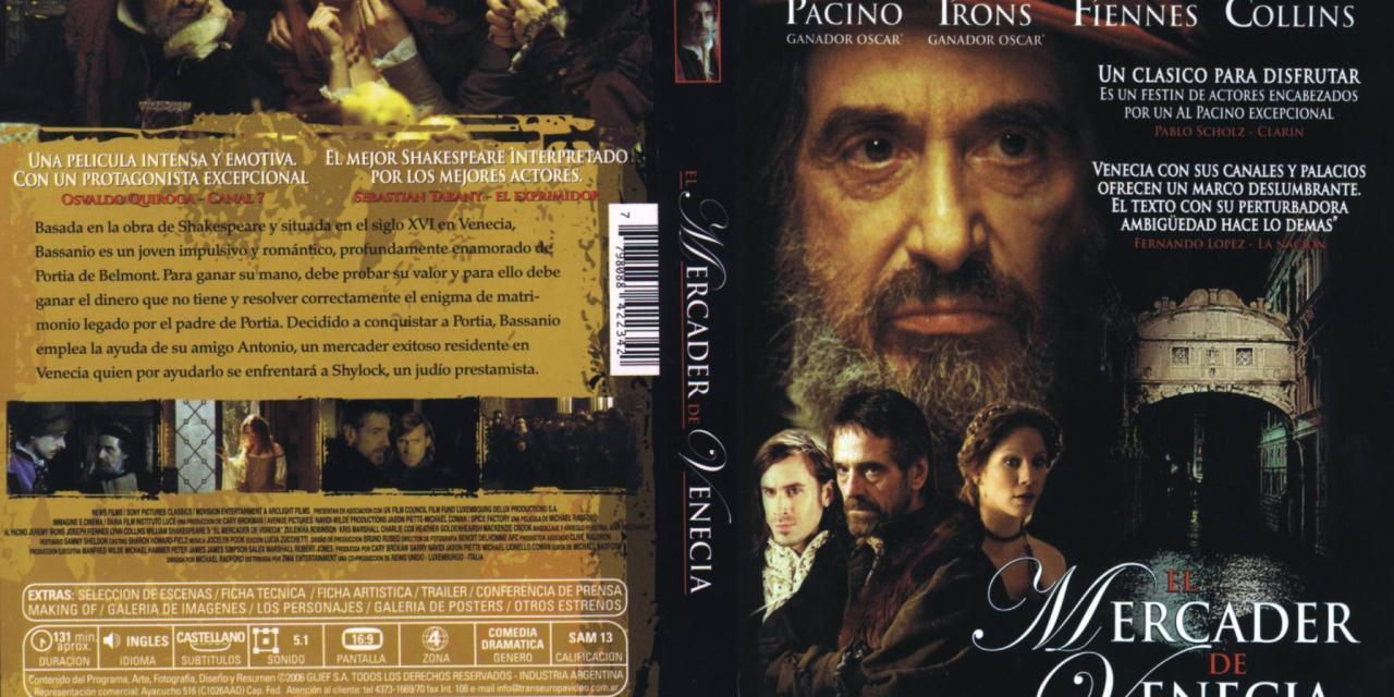 """""""МЛЕТАЧКИ ТРГОВАЦ"""" (  Вилијам Шекспир ) филм 2004 , """"The Merchant of Venice"""" ( William Shakespeare ) 2004 film"""