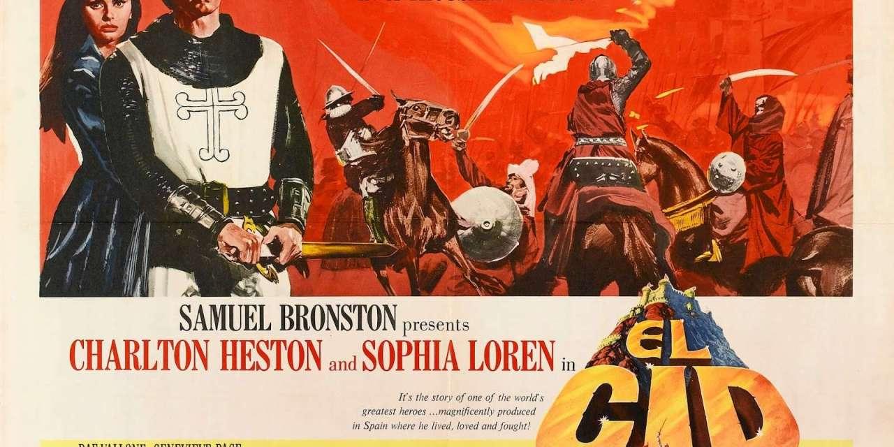 El Cid 1961 Charlton Heston, Sophia Loren & Raf Vallone BR. HD