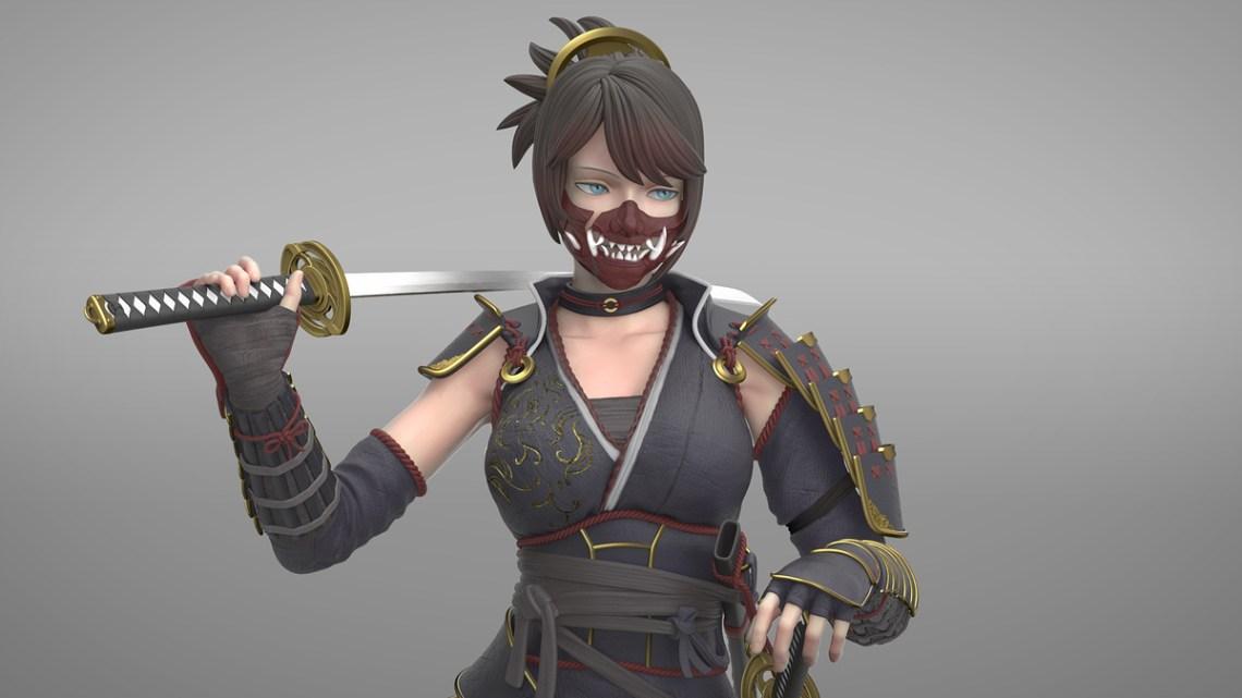 SamuraiGirl_closeup