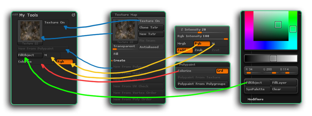 Customizing your ZBrush UI | ZBrush Guides