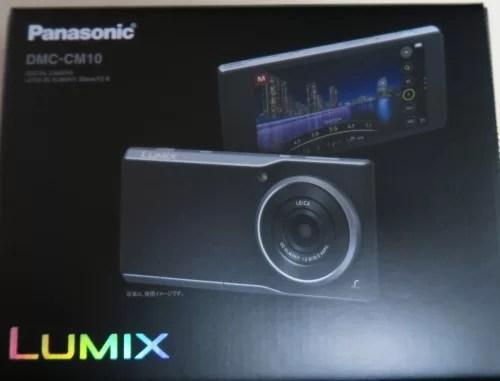 LUMIX DMC-CM10化粧箱