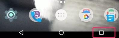 Androidアプリ履歴ボタン