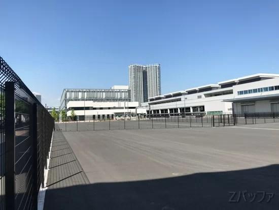 市場前駅の千客万来建設予定地だった土地