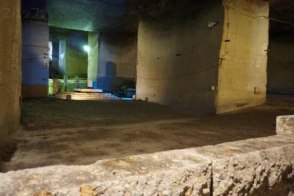 大谷資料館の地下神殿はファイナルファンタジーの世界観のよう