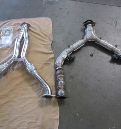 the old exhaust system had an aftermarket y pipe that didn t significantly increase power we installed a full cat back system from fast intentions followed  [ 4320 x 3240 Pixel ]