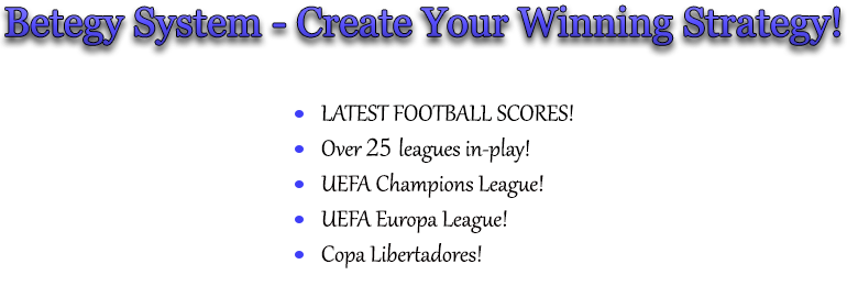 Amazing System The Best Football Predictions Livescore