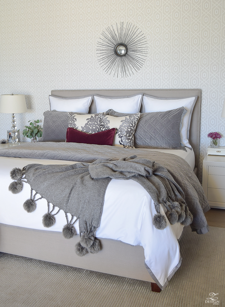 FallWinter Master Bedroom Updates ZDesign At Home