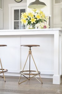The Best Modern Farmhouse Bar Stools ( + an update on mine