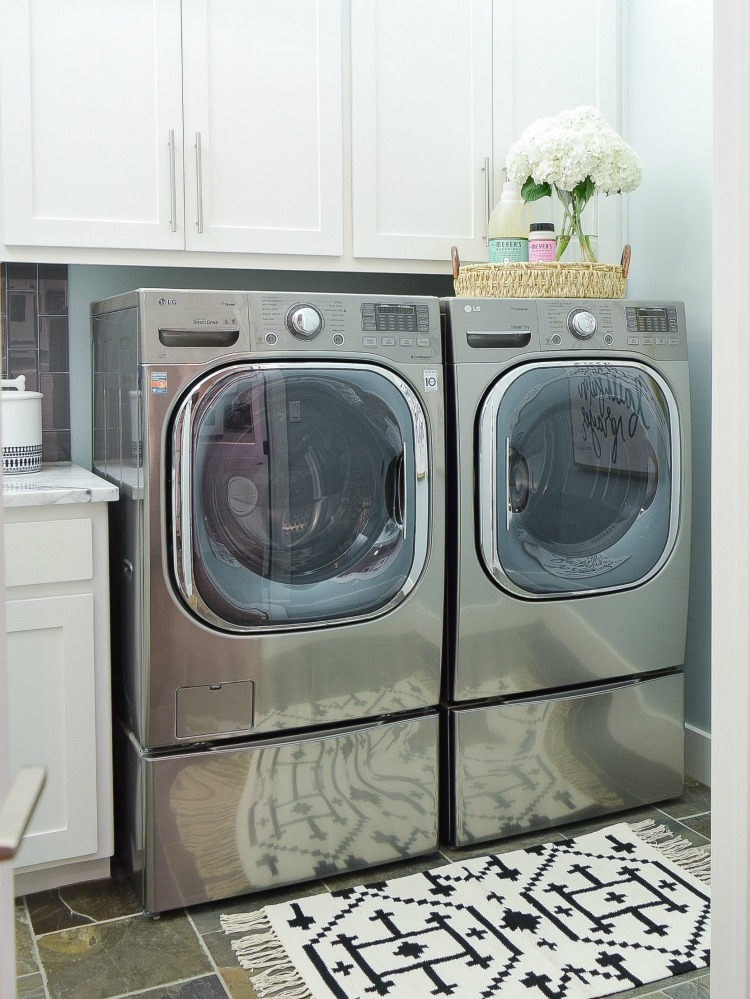 Pretty  Functional Laundry Room Details  Room Reveal