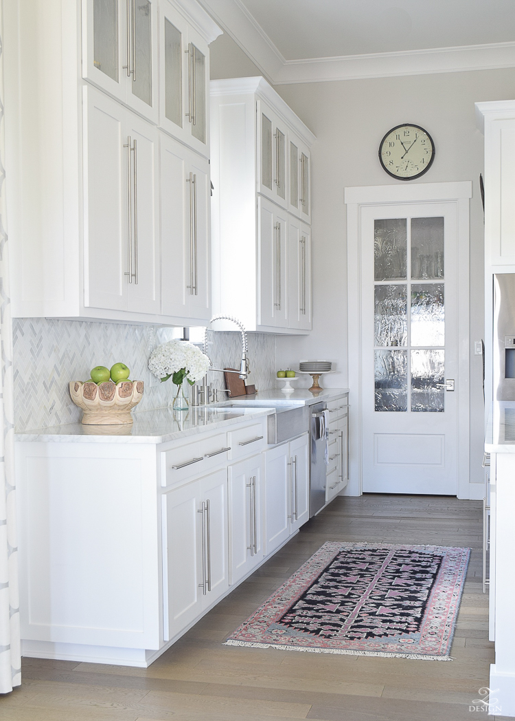 kitchen countertop decor outdoor with freestanding grill 9 simple tips for styling your counters zdesign at home 10 the white modern farmhouse shaker cabinets