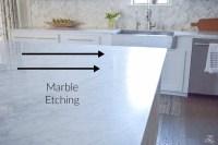 The Pros & Cons Of Marble Countertops + What I use to ...