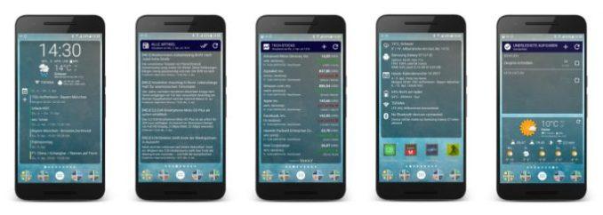 Android-widget-Chronus-5-Widgetsn