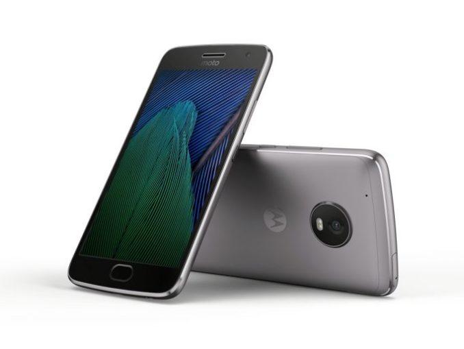Moto G5 plus in Lunar gray (image: Lenovo/Motorola)