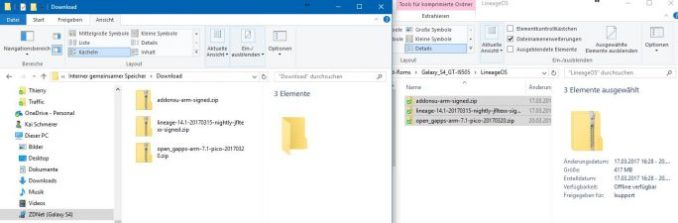 07_Samsung_Galaxy_S4_GT_I9505_jfltexx TWRP LineageOS_GAPPS_SuperSU-copy (image: ZDNet.de)