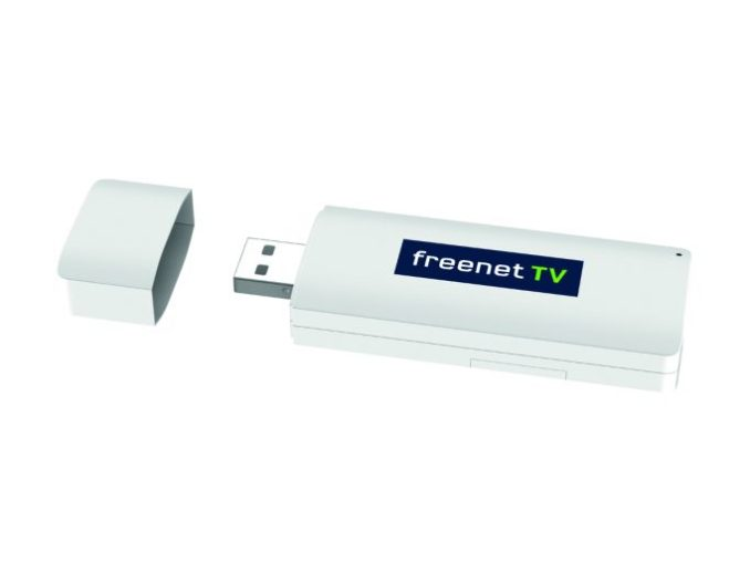 Freenet TV USB stick for the DVB-T2 HD reception on PCs, notebooks and Macs (image: Freenet)
