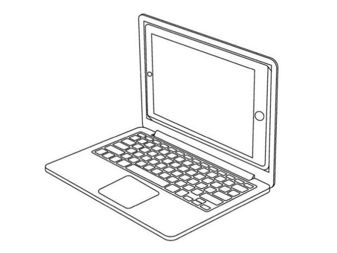 iPad as a display (image: Apple / USPTO)