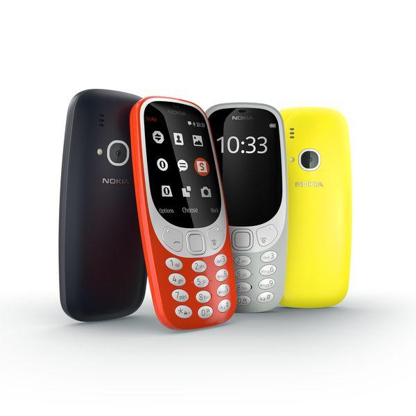 Nokia 3310 (image: Nokia)