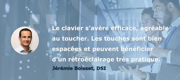 Avis Jérémie Testeurs Pros PC portable AsusPro P5440 - Le design et l'ergonomie